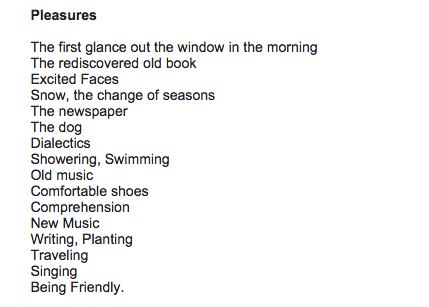 <i>Pleasures</i>