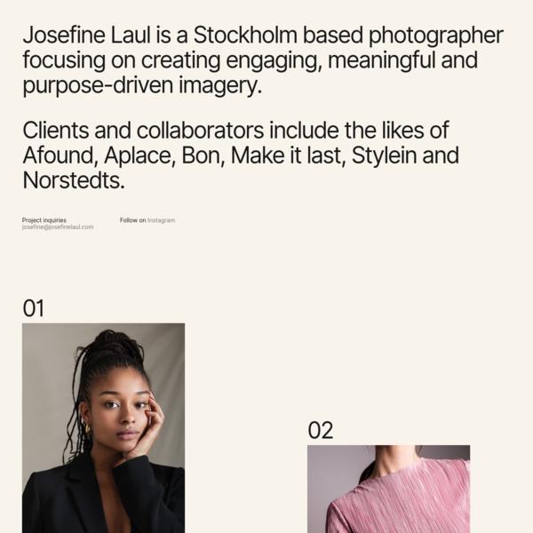Josefine Laul | Home