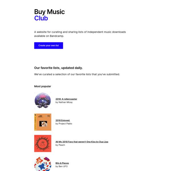 Buy Music Club