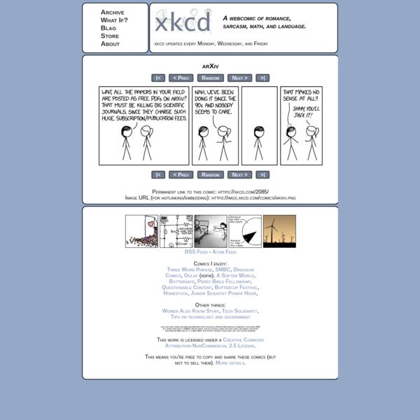 xkcd: arXiv