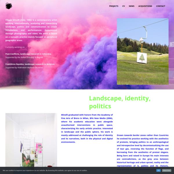 Filippo Minelli Studio - research and creation