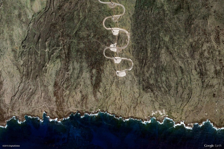 Kula, Maui, Hawaii, United States (Google Earth View 6125)