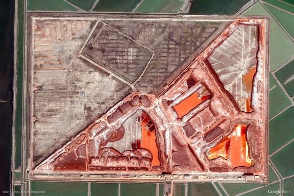 Binzhou Shi, China (Google Earth View 5660)