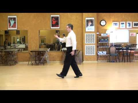 Foxtrot Lesson 7, Smooth Walk Technique