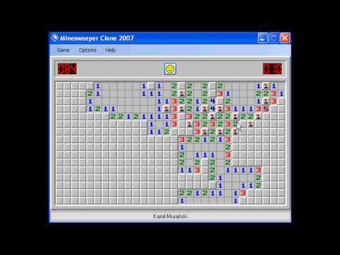 My (Kamil Murański) time world record. Minesweeper Clone is minesweeper version that doesn't allow cheating. Also it counts time to thousandths of a second, saves replay videos and has very good statistics. 3BV is the minimum number of left clicks required to solve a board.
