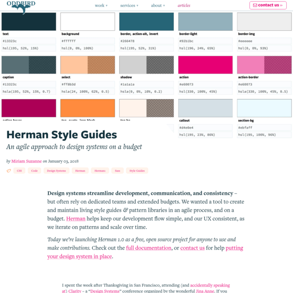Herman Style Guides