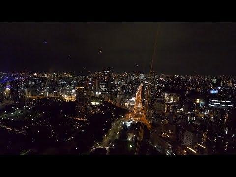 【4K】Night walk Hiro-o - Roppongi Hills - Midtown - Tokyo tower