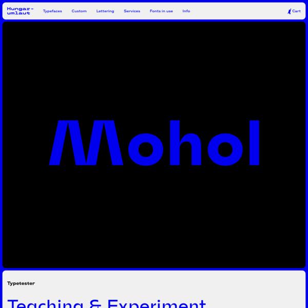 Mohol - Hungarumlaut