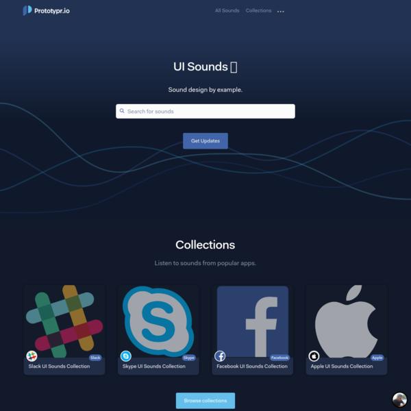 UI Sound Inspiration for UX/UI Design