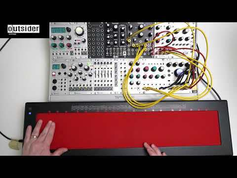 TEST SERIES Qu-Bit Electronix Nebulae V2 Eurorack with Haken Continuum Fingerboard