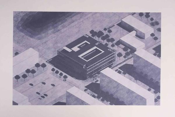Isometric architecture visualisation