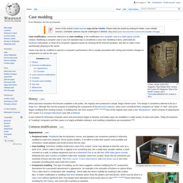 Case modding - Wikipedia