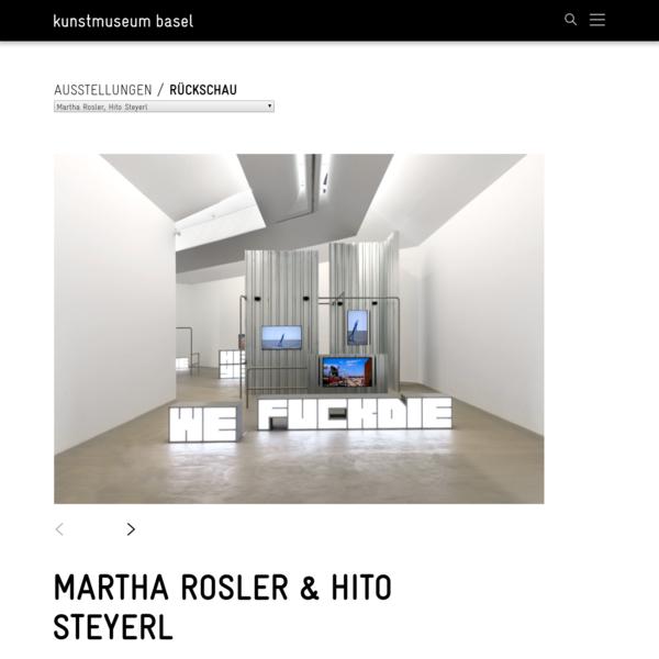 Martha Rosler & Hito Steyerl