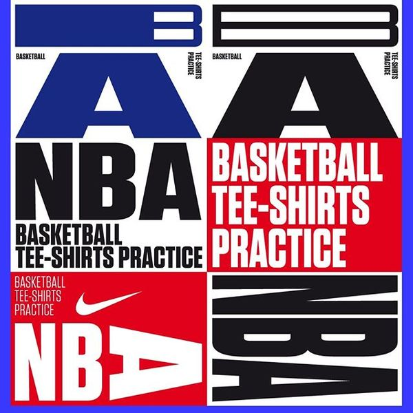 Nike / NBA / practice t-shirts / FAll 2017 Presentation for Nike Basketball commission My Name is Wendy was selected with ot...