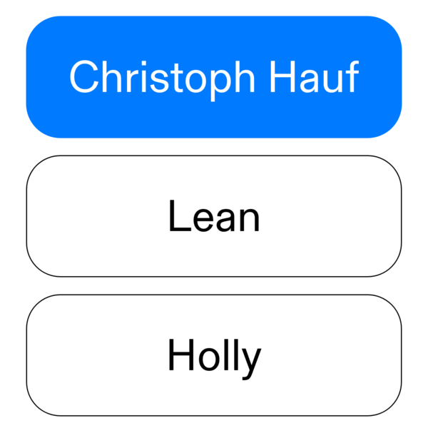 Christoph Hauf Productdesign