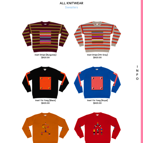 Sweaters | ALL KNITWEAR