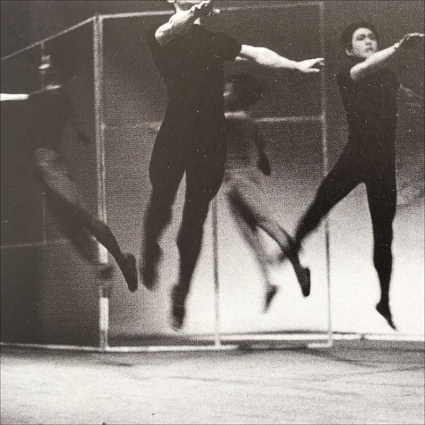 "Jikken Kōbō, Illumination from ""Experimental Ballet Theatre, 1955. Photo Ōtsuji Kiyoji"