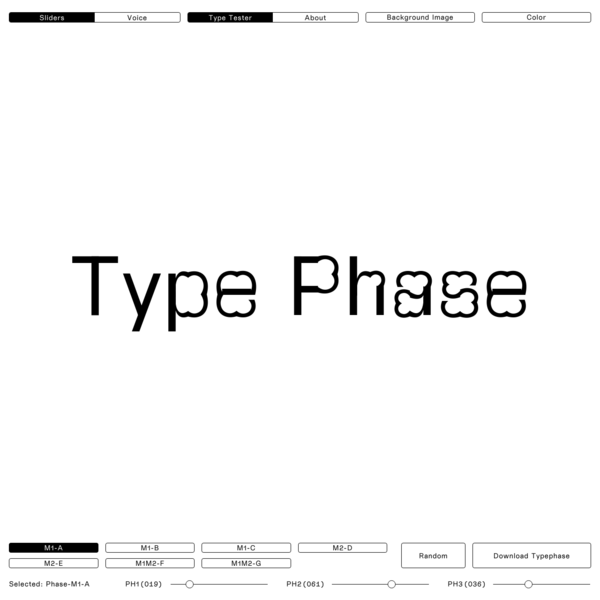 Phase is a generative type concept.