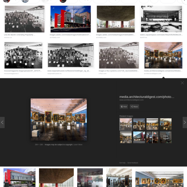 lina bo bardi museum - Google Search