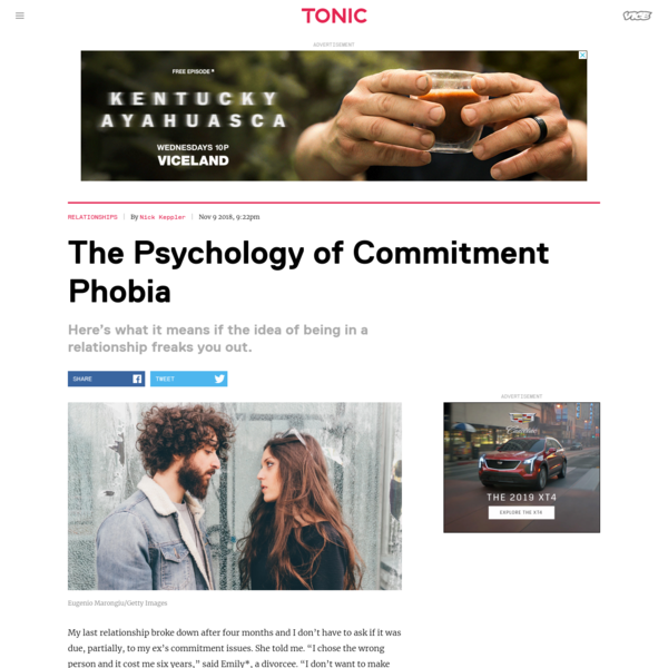 This Is Why Some People Are So Scared of Commitment