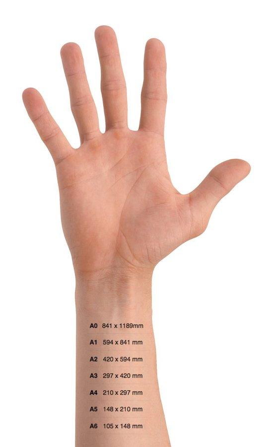 A sizes tattoo