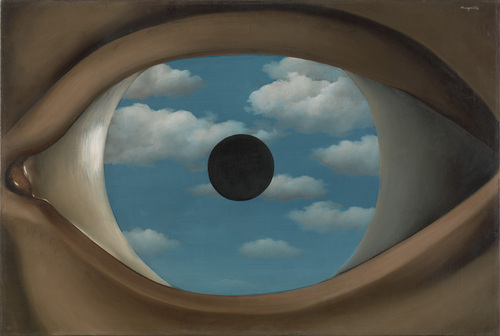The False Mirror, René Magritte