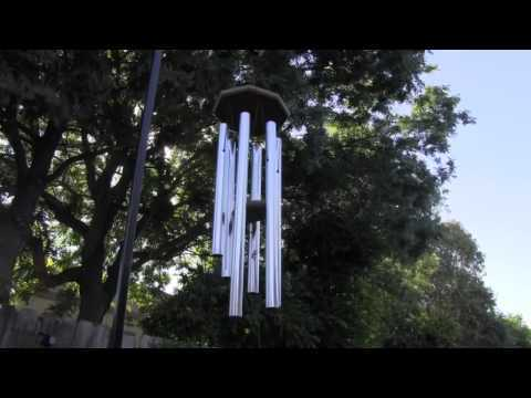 Forty Minutes of relaxing wind chime blowing in the wind, helps sleep if volume is set just right not to loud not to low.