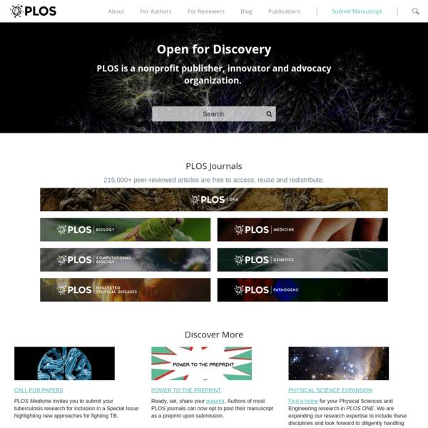 PLOS | Public Library of Science