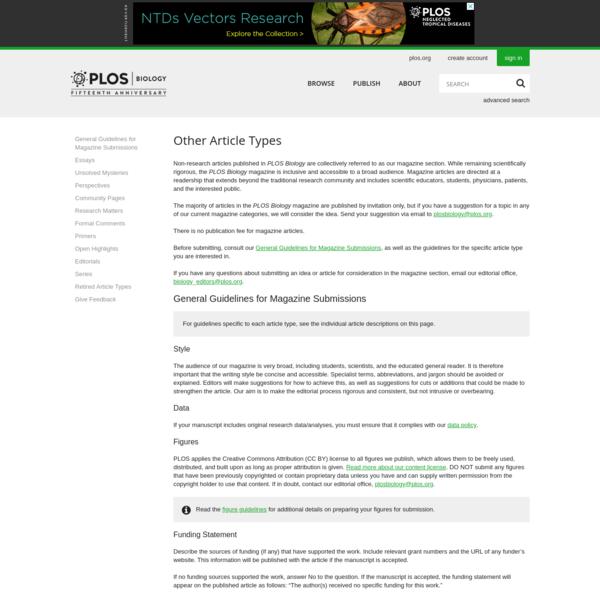 PLOS Biology: A Peer-Reviewed Open-Access Journal