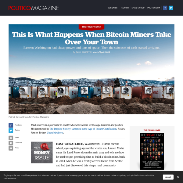 This Is What Happens When Bitcoin Miners Take Over Your Town