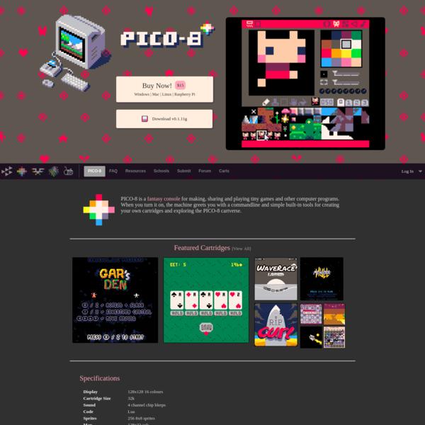 PICO-8 Fantasy Console