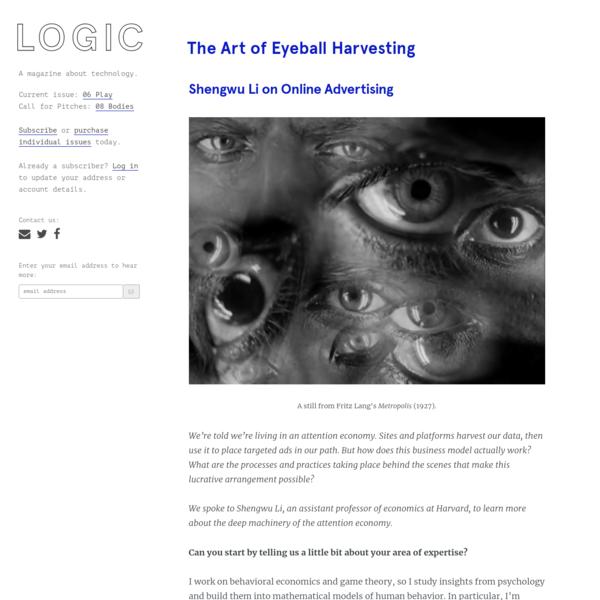 The Art of Eyeball Harvesting