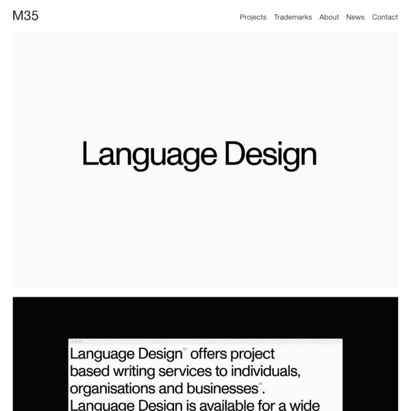 M35 | Language Design