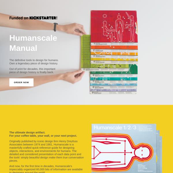 Humanscale Manual