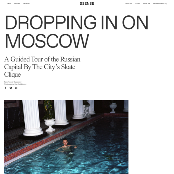 Dropping in on Moscow