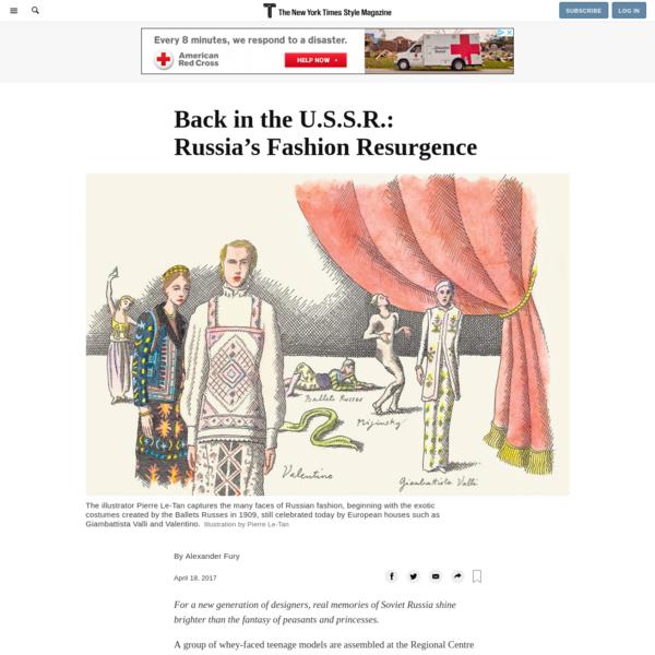 Back in the U.S.S.R.: Russia's Fashion Resurgence