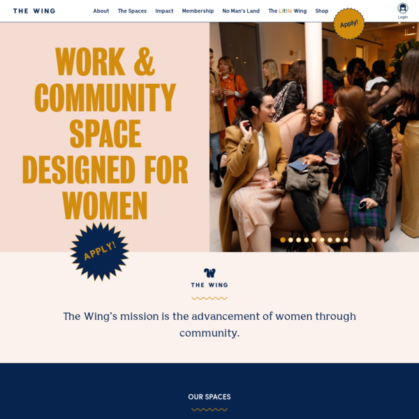 The Wing   Work and Community Spaces Designed for Women