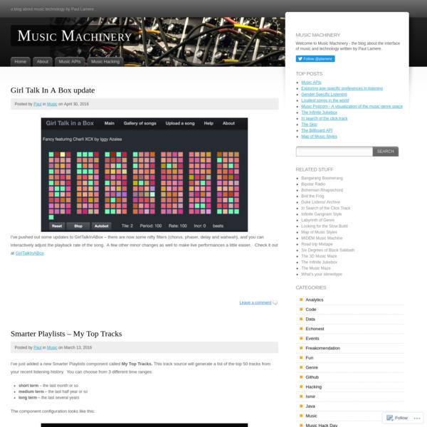 Music Machinery