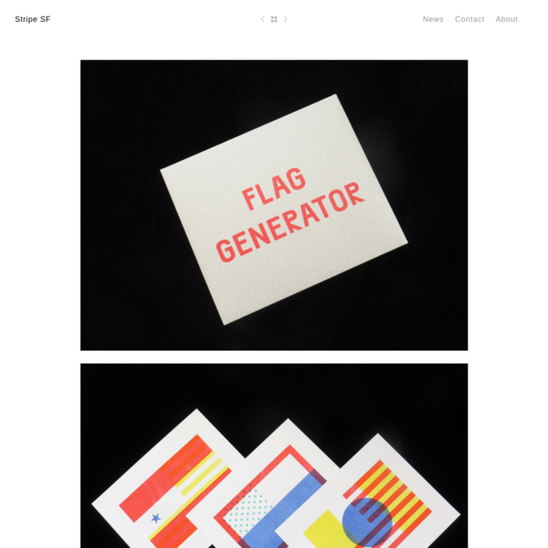 Flag Generator - Stripe SF