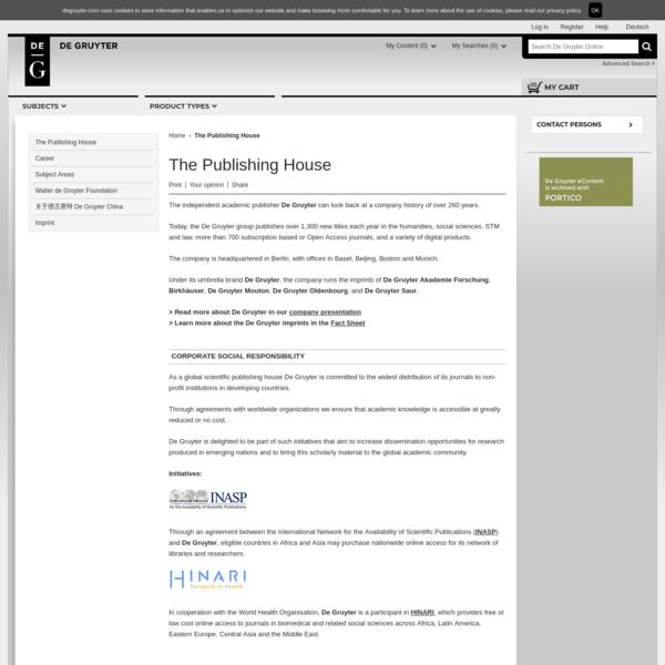 The Publishing House
