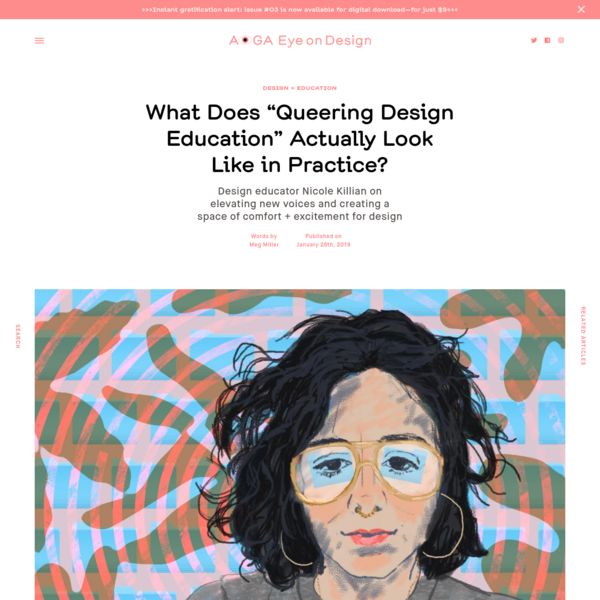 """What Does """"Queering Design Education"""" Actually Look Like in Practice?"""