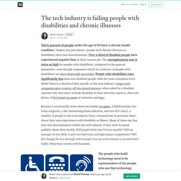 The tech industry is failing people with disabilities and chronic illnesses