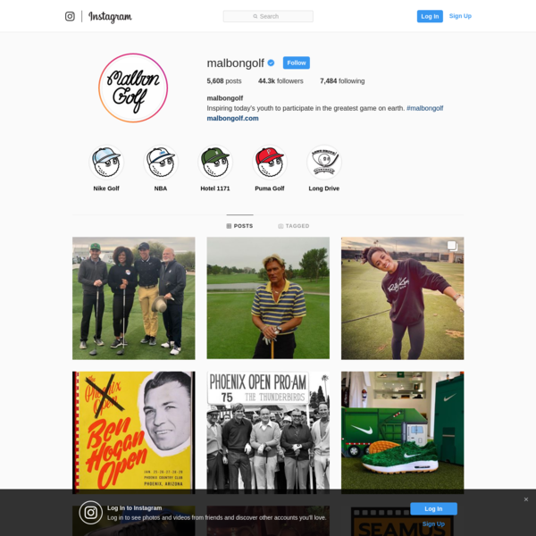 44.3k Followers, 7,484 Following, 5,608 Posts - See Instagram photos and videos from @malbongolf