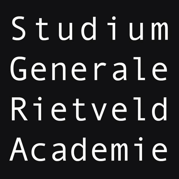 STUDIUM GENERALE RIETVELD ACADEMIE