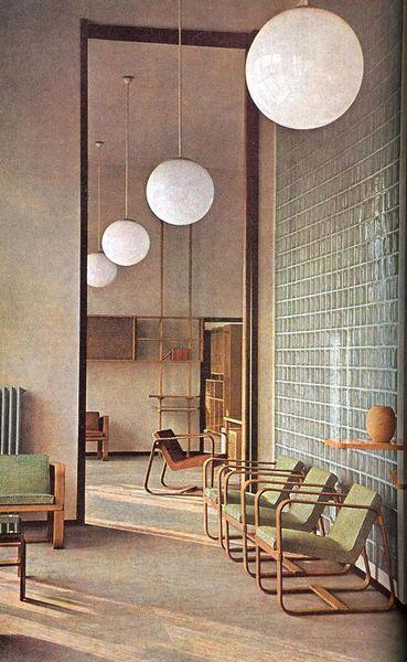 Giuseppe Pagano- Vintage interiors