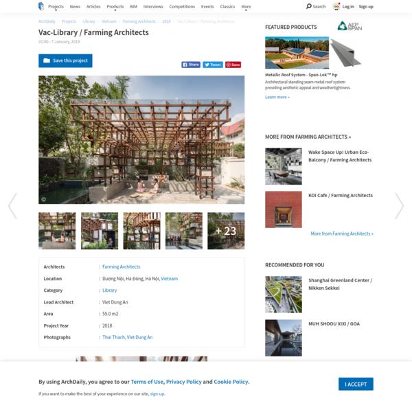Vac-Library / Farming Architects