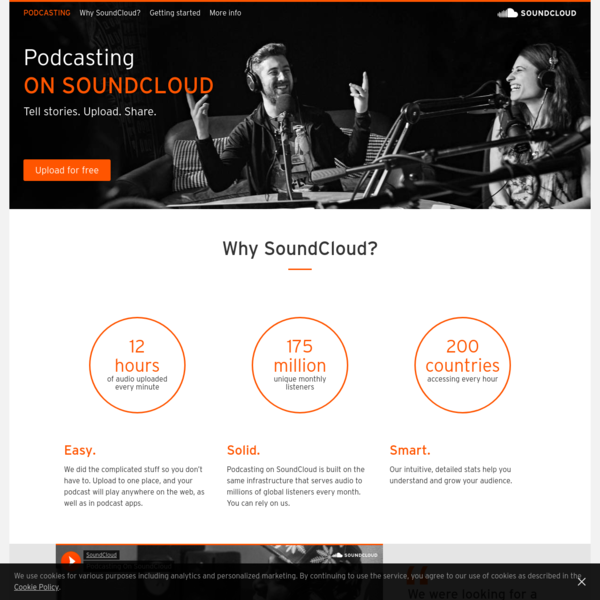 Podcasting on SoundCloud