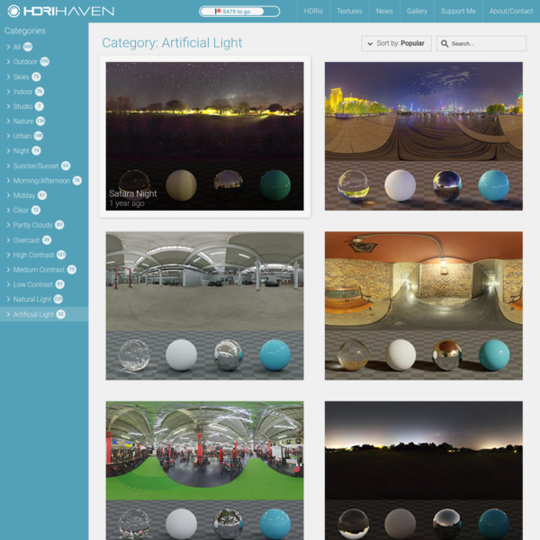100% Free High Quality HDRIs for Everyone