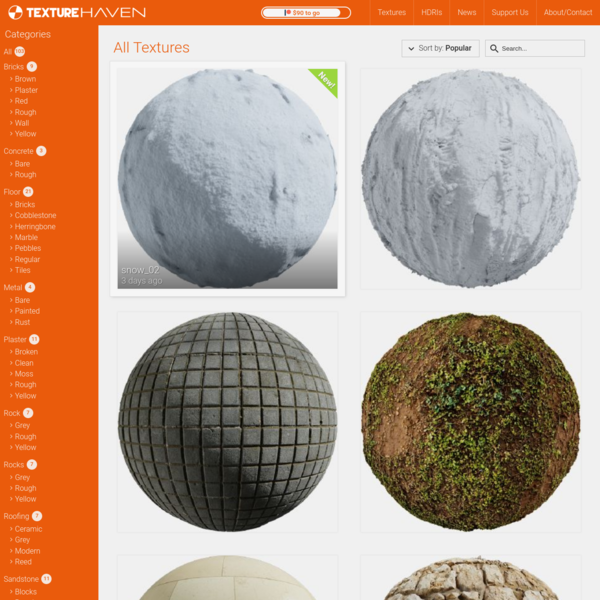 100% Free High Quality Textures for Everyone
