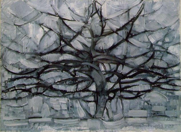 Piet Mondrian - Grey Tree